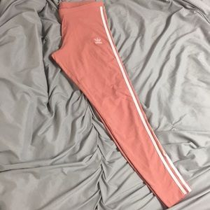 Ash Pink Adidas Leggings